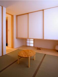 和室の造り付け家具