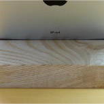 iPadスタンド:後ろから