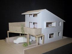 市川大野の家模型