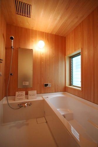 三郷の家バスルーム