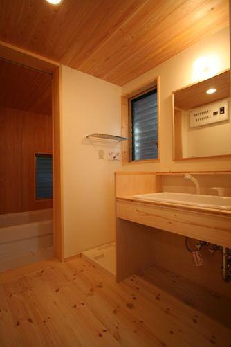 篠崎の家洗面所