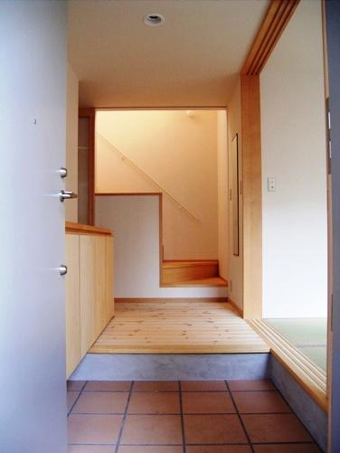 亀戸の家玄関