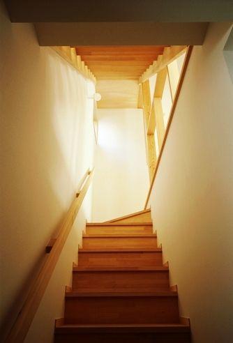 足立の家階段