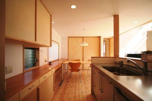 習志野の家キッチン