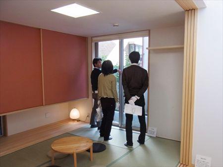 世田谷区「松原の家」、「松原の家2の」完成見学会の様子