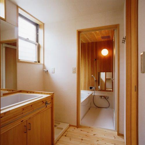 市川真間の家バスルーム