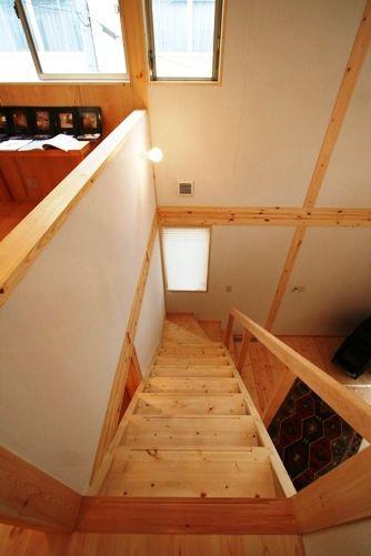 三郷の家階段