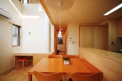 篠崎の家リビング