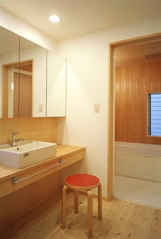 足立の家洗面所