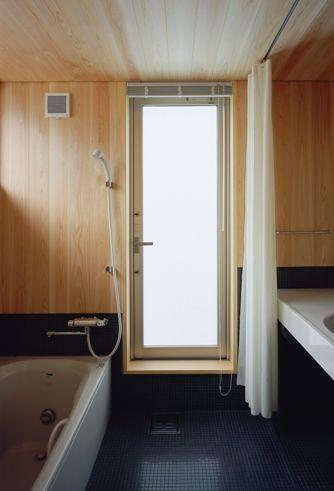 北葛西の家バスルーム