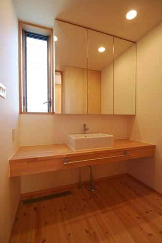 習志野の家洗面台
