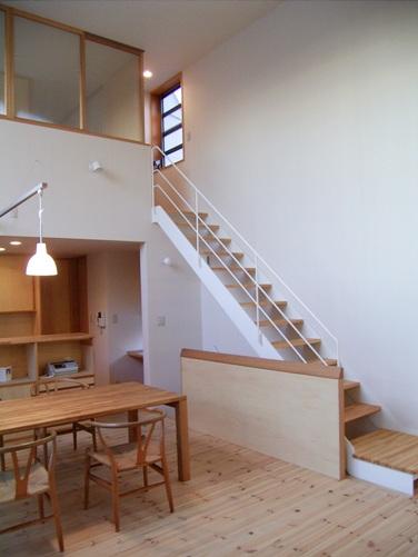 亀戸の家階段