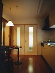 墨田0邸キッチン