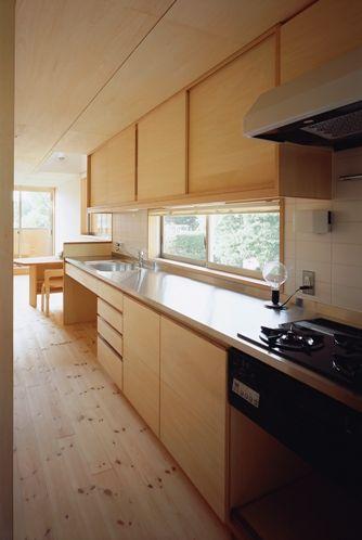 北葛西の家キッチン