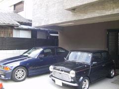 目黒H邸ガレージ