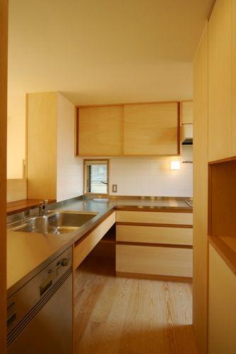 東船橋の家キッチン