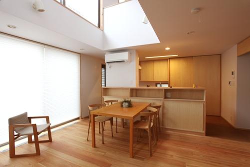 リビング・ダイニング・キッチン 造付け家具