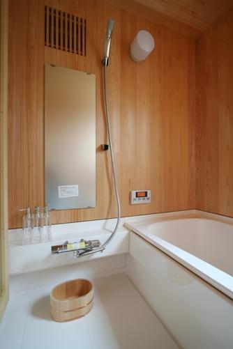 けやきの見える家-13.浴室