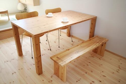 オリジナルテーブル(大工がつくる家具)
