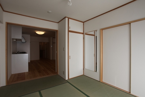 施工後 和室1