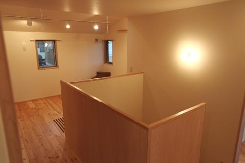 階段室とフリースペース