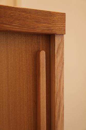大工による造り付け家具