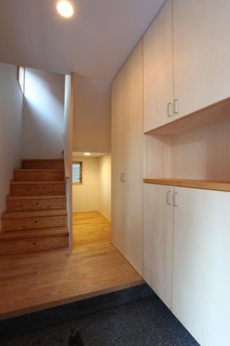 2階子世帯の玄関