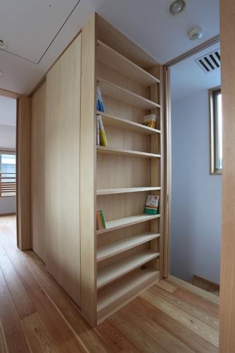収納と本棚