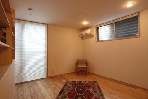 ウォークインクローゼット のある寝室