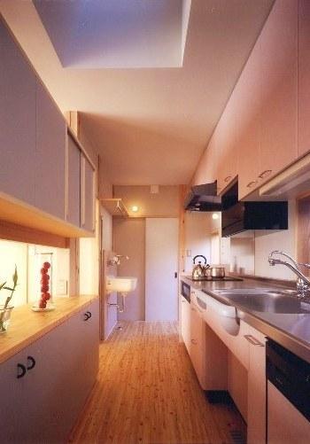 西小岩の家キッチン