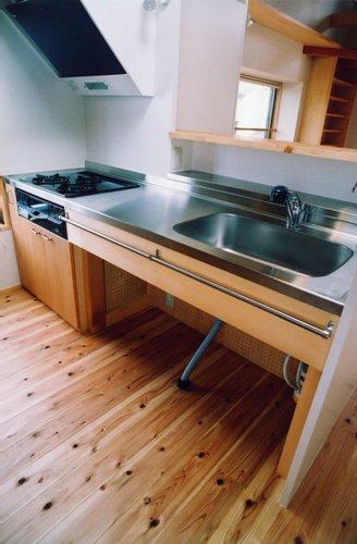 市川大野の家キッチン