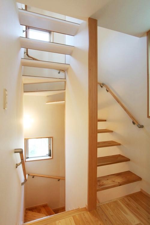 階段スリット