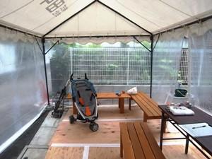Exif_JPEG_PICTURE「南小岩の家」完成見学会の様子、待合所