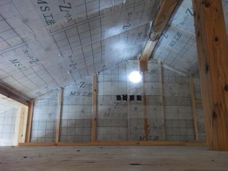 「船橋の家」構造見学会の様子