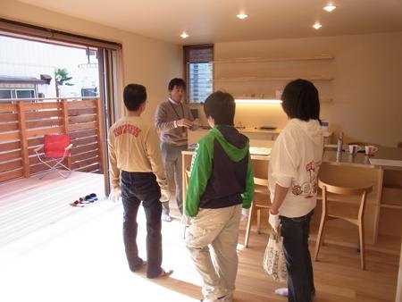 「船橋の家」完成見学会の様子
