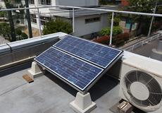 OMソーラー駆動の太陽電池